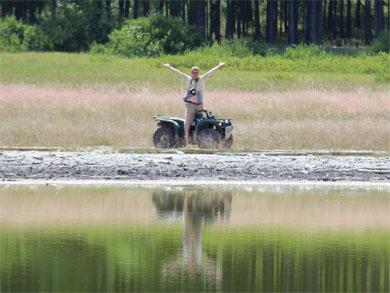грязевое озеро Шара-Нур