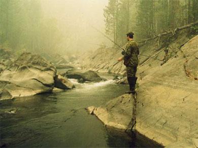Рыбалка на Сарме.