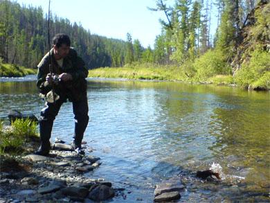 Рыбалка на ленка на Сарме