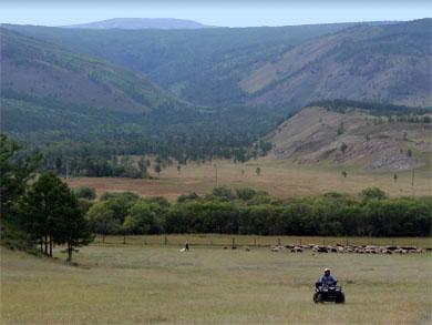 Приморский хребет, долина Кучелги