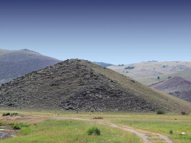 Тажеранская степь, гора Ерд