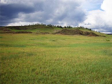Тажеранская степь, долина Тонты
